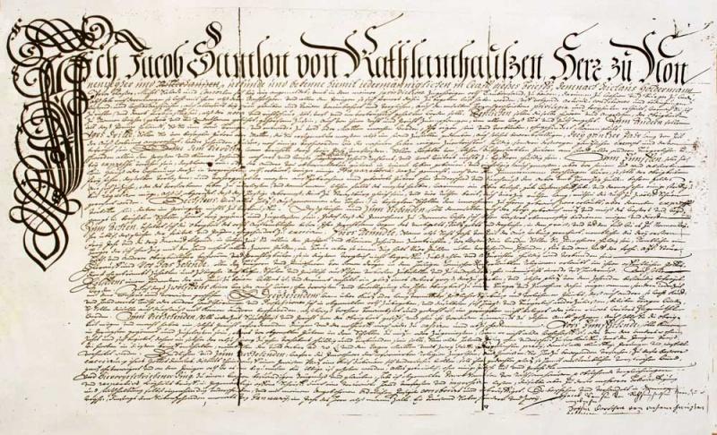 Charte de Daubensand