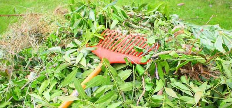 Dates d'ouvertue du dépot de déchets verts