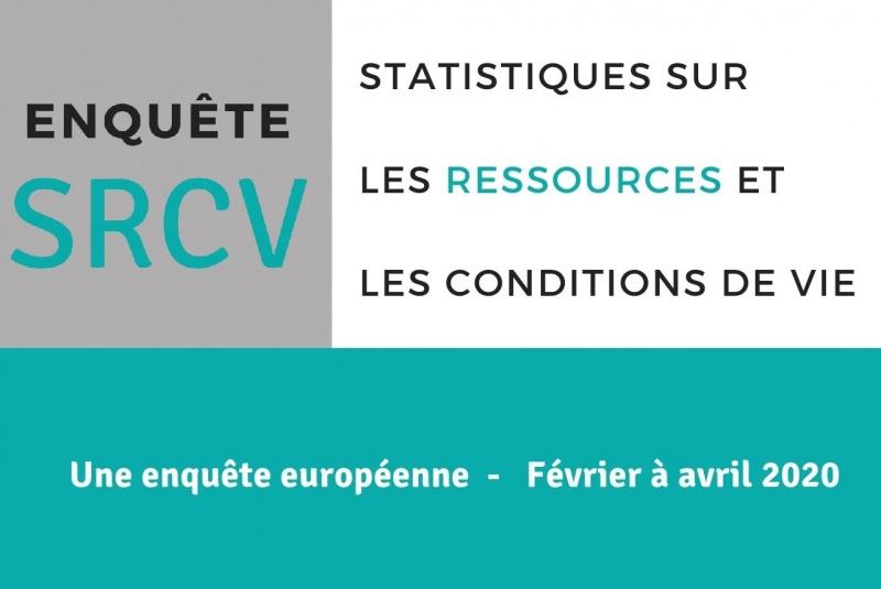 Enquête INSEE - statistiques sur les ressources et conditions de vie